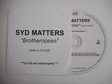 SYD MATTERS : BROTHEROCEAN ( CE CD EST WATERMARKÉ ) [ CD ALBUM ] ~ PORT GRATUIT