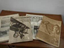 REVUE L'ILLUSTRATION Année 1918 Complete + Publicités  Adverts
