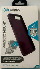 Speck Presidio Mount Case for iPhone 8/7/6s Plus -Candytuft Purple/Purple #7433
