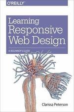 Learning Responsive Web Design: A Beginner's Guide (Paperback or Softback)