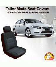 Custom Seat Covers Ford Falcon Sedan BA BF FG XT 10/2002-On Airbag Deploy Safe