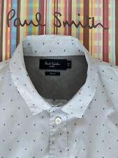 PAUL SMITH Spotty Shirt Man's Size MED - POLKA DOT PATTERN - Fabulous !
