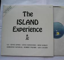 *U2, BOB MARLEY...THE ISLAND EXPERIENCE CANADA PROMO ORIGINAL '80s LP Vinyl
