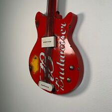 Budweiser Decorative Guitar Bar Sign