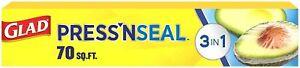 Glad Press'n Seal Sealing Wrap 70 sq ft