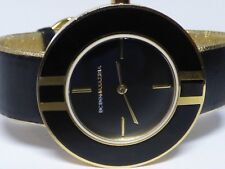 BCBG Max Azria Watch Women's Gold Black Watch - Working
