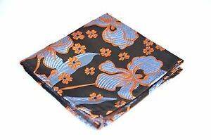Lord R Colton Masterworks Pocket Square - Brown Ice Aftermath Silk - $75 Retail