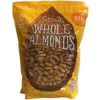Member's Mark Natural Whole Almonds (3 lbs.) FREE SHIPPING