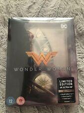 Wonder Woman Titans Of Cult 4K Ultra HD Steelbook OOP New & Sealed Rare Mint