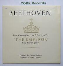TP 239 - BEETHOVEN - Piano Concerto No 5 BOUKOFF / DERVAUX - Ex Con LP Record