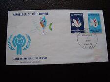 COTE D IVOIRE - enveloppe 1er jour 1/4/1979 (B12)