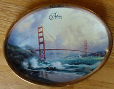 Thomas Kinkade's Shores of Inspiration collectible numbered ceramic plate