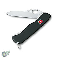 0.8413.M3 35591 VICTORINOX Swiss Army Knife Sentinel One Hand Black