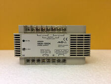 Omron S82K-10024 120 / 240 VAC, 24 V, 4.2 A, Din Rail Power Supply. Tested!