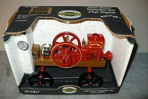 1/8 JOHN DEERE WATERLOO BOY 2 HP Toy Engine Nashville Parts EXPO NIB Ertl