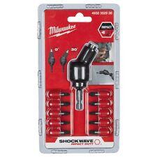 Milwaukee 11 Pièces Impact Shockwave Articulation Compensé Fixation - 4932352938
