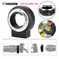 Commlite CM-ENF-E1 PRO V06 Lens Mount Adapter for Nikon F Lens to Sony E-mount C