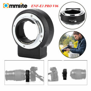 US Commlite CM-ENF-E1 PRO AF Adapter For Nikon F Lens To Sony E A9 A7II A7RII