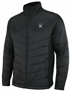 Spyder Men's Stealth Full Zip Hybrid Jacket, Color Options