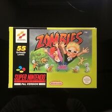 Zombies (SNES) VGC Boxed/Complete (Zombies Ate My Neighbours)