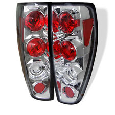 Chevy Colorado GMC Canyon 04-12 Chrome Euro Style Rear Tail Lights Set