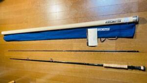 "SAGE GRAPHITE Ⅲ GFL990-RPLXi 9'0"" #9 2 Piece Fly Rod Fishing w/Case F/S"