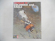 1969 Revell Apollo 11 Columbia and Eagle 1/96 Scale Model Kit SEALED in Box NOS