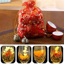 10pcs Handmade Blooming Tea Herbal Buds Ball Blossom Tea Decorate Flower *H