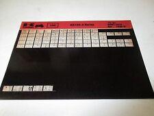 Kawasaki KE100 - A Series Parts List Micro Fiche