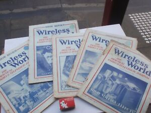 Wireless World  1939    5  Issues illustrated