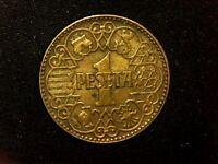 1 peseta 1944 Franco Estado Español B1