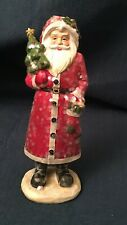 Decorative resin Santa figurine by Blossom Bucket, #158-71914