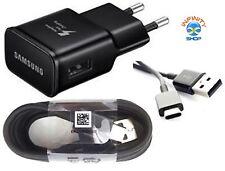 Caricabatteria Rapido + CAVO ORIGINALE Samsung TIPO-C FAST S8 S8+ S9 NOTE 8 a530