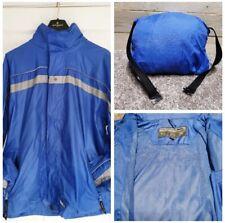Mens Tresspass Waterproof Jacket With Hood Size Large