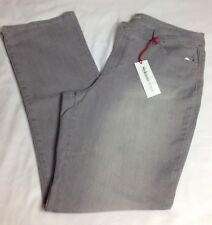 Style&co. Denim New 16 Curvy Fit Bootcut Jeans Mid Rise Aluminum Wash Gray NWT