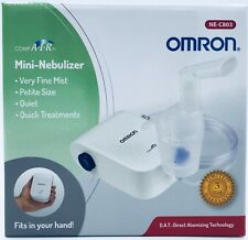 Compact Portable Compressor Nebulizer with Mask + 5 Filters + Saline Starter Pak