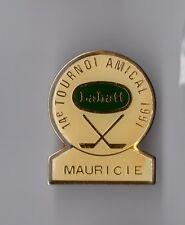 Pin's Hockey Canada / 14ème tournoi amical 1991 de Mauricie - Bière Labatt