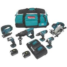 Makita DLX6068PT 18V 3 x 5.0Ah Li-Ion Cordless 6-Piece Power Multi Tool Set £799
