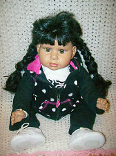 """Heritage Mint Cuddle Me doll 2003 Sweet and Innocent Collection 20"""" Ethnic"""