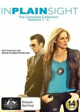 In Plain Sight: Seasons 1 - 5 NEW R4 DVD