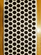 """1000 3/8"""" Brown Felt Dots Surface Protector Pad Trophy Cabinet Furniture Crafts"""
