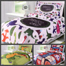 5PC BEDROOM KIDS BED IN A BAG COMFORTER + SHEET COMPLETE BEDDING SET TWIN SIZE