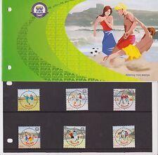ALDERNEY 2004 PRESENTATION PACK FIFA CENTENARY STAMP SET SG A229-A234