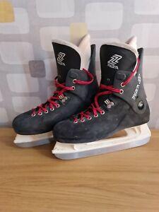 Trezeta Ice Skating Hockey Boots Skates Size 7 UK Unisex Staking Shoes Skates