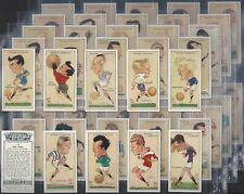 PLAYERS-FULL SET- FOOTBALL CARICATURES BY MAC (50 CARDS) - EXC+++