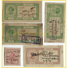 Indian state palitana 5 stamps all different collection.