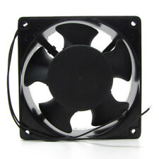 120mm AC220V Cooling Fan Electrical Cabinet Exhaust  2 Wires 12038 120*38mm