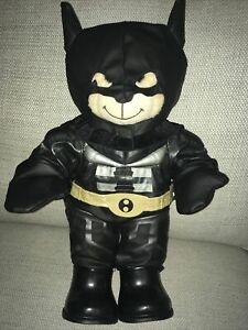 Build a bear - Bear and  official  Batman outfit hard to find and rare outfit