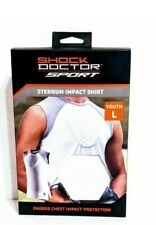 Shock Doctor Sport Sternum Impact Shirt New Youth Large