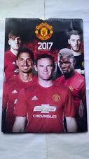Manchester United Calendar 2017 Official Man Utd Football Club Memorabilia